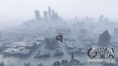 Singleplayer Snow 2.1 для GTA 5 пятый скриншот