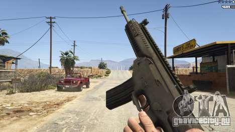 BF4 AR160 для GTA 5 восьмой скриншот
