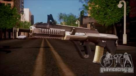 AUG A3 from Battlefield Hardline для GTA San Andreas