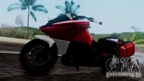 Dinka Vindicator SA Plate для GTA San Andreas вид справа