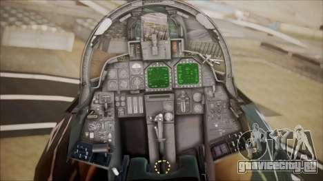 F-14D AC6 Halloween для GTA San Andreas вид сзади