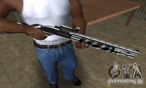 Two Lines Shotgun для GTA San Andreas