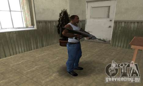 Brown AUG для GTA San Andreas третий скриншот
