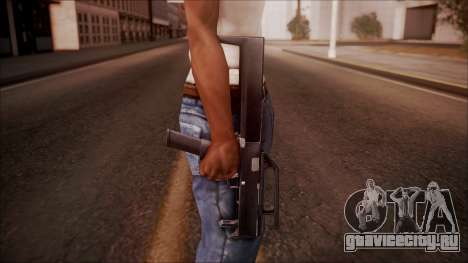 FMG-9 from Battlefield Hardline для GTA San Andreas третий скриншот