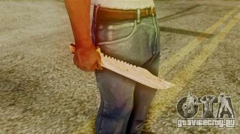 Red Dead Redemption Knife Legendary Assasin для GTA San Andreas третий скриншот