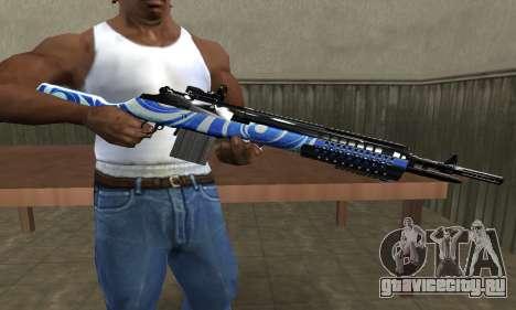 JokerMan Rifle для GTA San Andreas