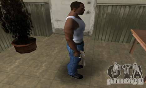 Full of Gold Deagle для GTA San Andreas третий скриншот
