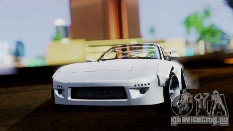 Mazda RX-7 (FD) для GTA San Andreas вид сзади слева