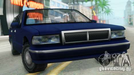 Premier Station Wagon для GTA San Andreas вид справа