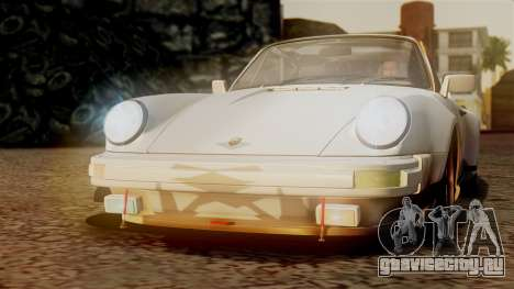 Porsche 911 Turbo (930) 1985 Kit C PJ для GTA San Andreas колёса