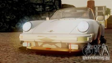Porsche 911 Turbo (930) 1985 Kit C PJ для GTA San Andreas колёса