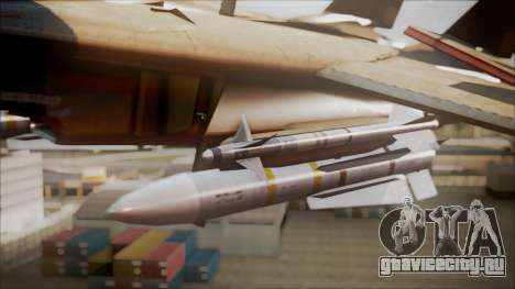 F-14D AC6 Halloween для GTA San Andreas вид справа