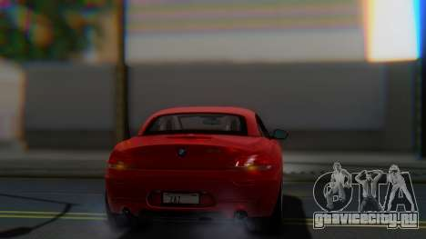 BMW Z4 sDrive35is 2011 2 Extras для GTA San Andreas вид сбоку