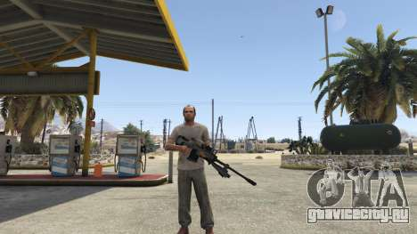 Halo UNSC: Sniper Rifle для GTA 5