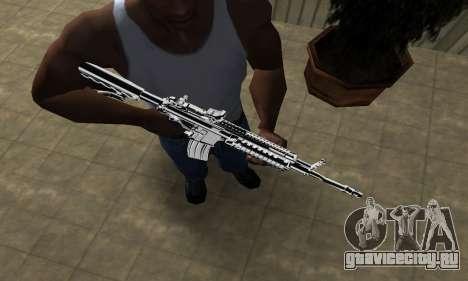 Original M4 для GTA San Andreas