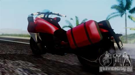 Dinka Vindicator SA Plate для GTA San Andreas вид сзади слева