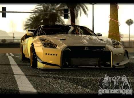 Nissan GTR-R35 Rocket Bunny для GTA San Andreas