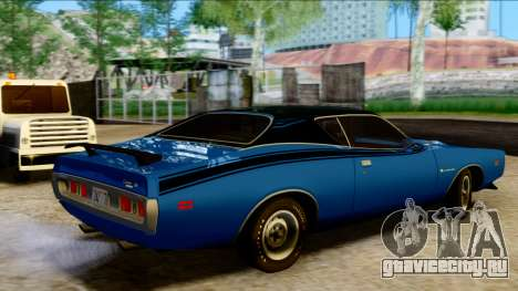 Dodge Charger Super Bee 426 Hemi (WS23) 1971 PJ для GTA San Andreas вид сзади слева