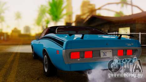Dodge Charger Super Bee 426 Hemi (WS23) 1971 IVF для GTA San Andreas вид слева