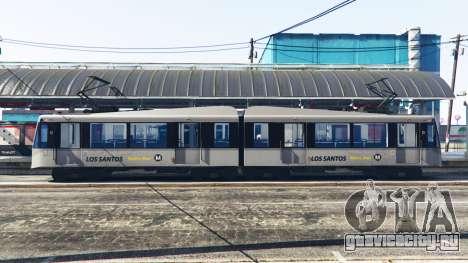 Новые текстуры трамваев для GTA 5 второй скриншот