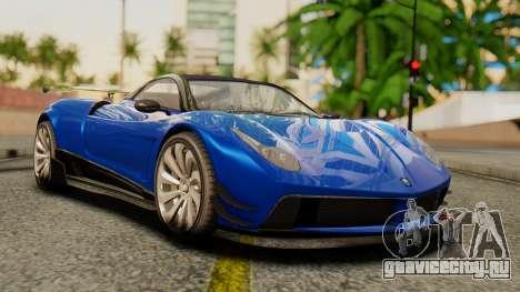 Pegassi Osyra Extra 1 для GTA San Andreas