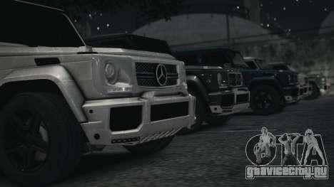Mercedes-Benz G65 W463 для GTA 4 вид сзади слева