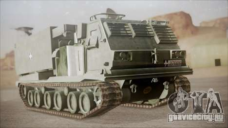 Hellenic Army M270 MLRS для GTA San Andreas