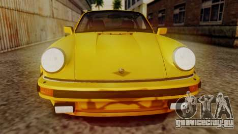 Porsche 911 Turbo (930) 1985 Kit C PJ для GTA San Andreas вид сбоку