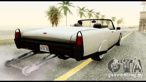 GTA 5 Vapid Chino Tuning v1 для GTA San Andreas вид слева