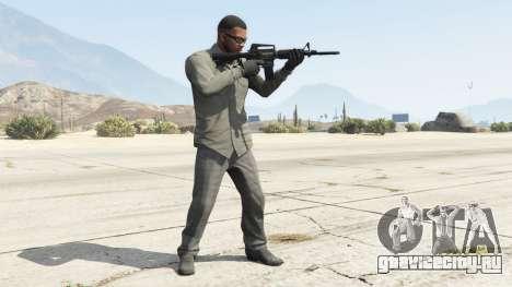 M4A1 для GTA 5 второй скриншот