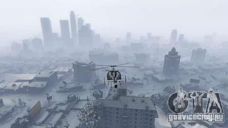 Singleplayer Snow 2.1 для GTA 5 четвертый скриншот
