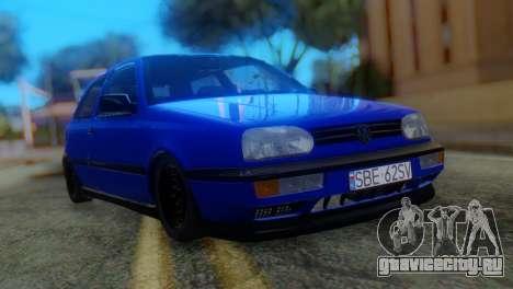 Volkswagen Golf 3 Pink Floyd для GTA San Andreas