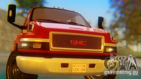 GMC Topkick C4500 для GTA San Andreas вид сзади