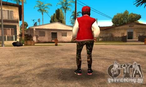 Army Girl для GTA San Andreas третий скриншот