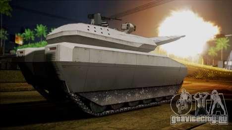 PL-01 Concept Desert для GTA San Andreas вид сзади слева