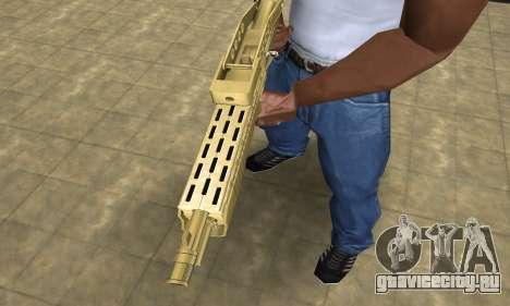 Zloty Tajfun Combat Shotgun для GTA San Andreas второй скриншот