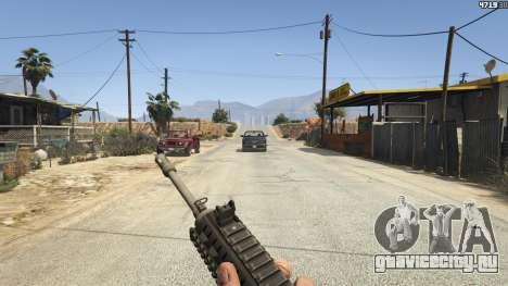 BF4 AR160 для GTA 5 пятый скриншот