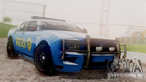 Hunter Citizen from Burnout Paradise v2 для GTA San Andreas
