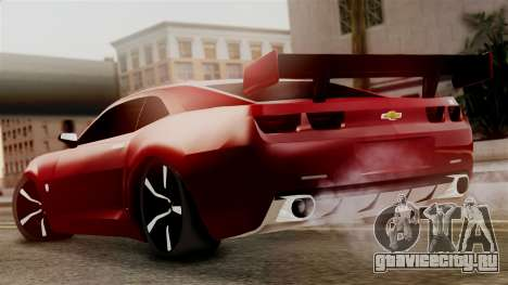 Chevrolet Camaro SS для GTA San Andreas вид слева