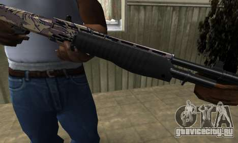 Brown Combat Shotgun для GTA San Andreas