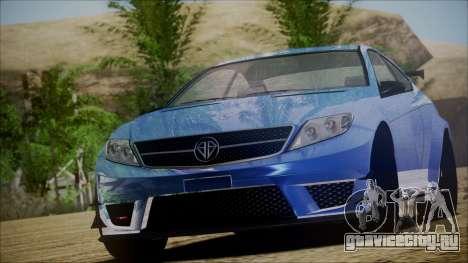 Benefactor Schwartzer Gray Series для GTA San Andreas