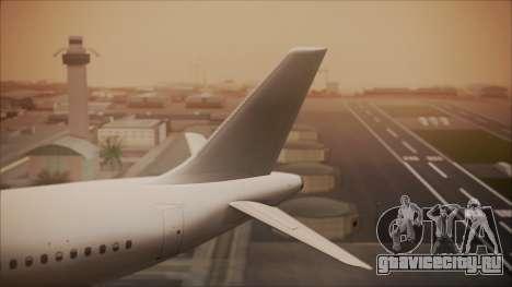 Airbus A320-200 для GTA San Andreas вид сзади слева