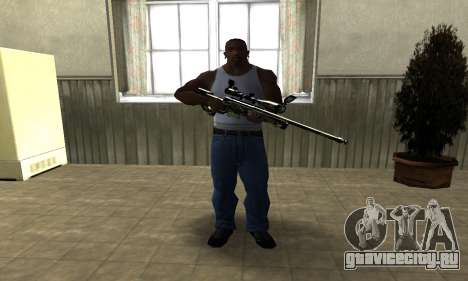 Lithy Sniper Rifle для GTA San Andreas второй скриншот