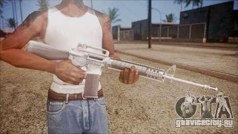 M16A3 from Battlefield Hardline для GTA San Andreas третий скриншот