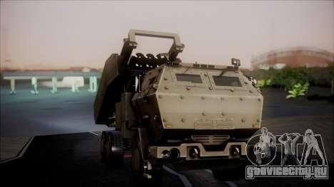 M142 HIMARS Desert Camo для GTA San Andreas вид справа