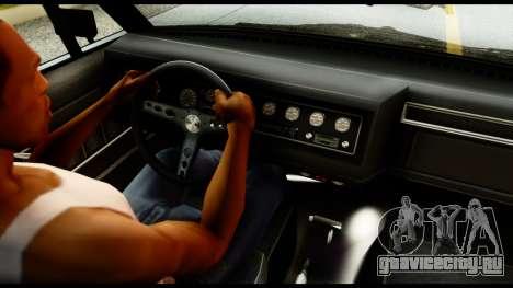 GTA 5 Vapid Chino Tuning v1 для GTA San Andreas вид сзади слева