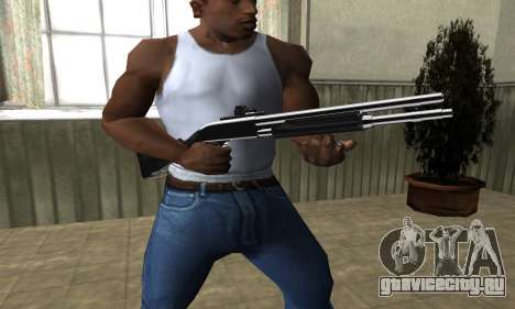 Royal Squad Shotgun для GTA San Andreas второй скриншот