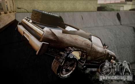 Mad Max 2 Ford Landau для GTA San Andreas вид слева