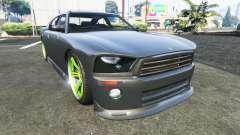 Bravado Buffalo Dodge Charger для GTA 5