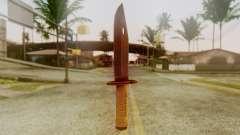 Combat Knife для GTA San Andreas